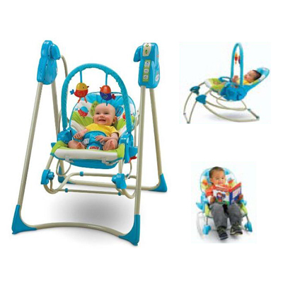 Leagan Fisher Price 3 in 1 Swing'n Rocker