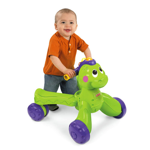 Premergator Fisher-Price 2 in 1 Stride-to-Ride Dino