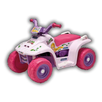 ATV copii 6V Quad Princess Peg Perego