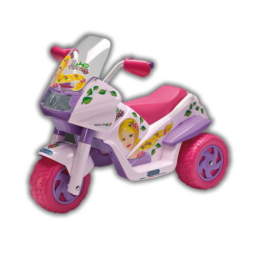 Motocicleta copii 6V Raider Princess Peg Perego