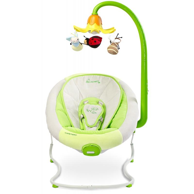 scaun moale si verde la bebelusi