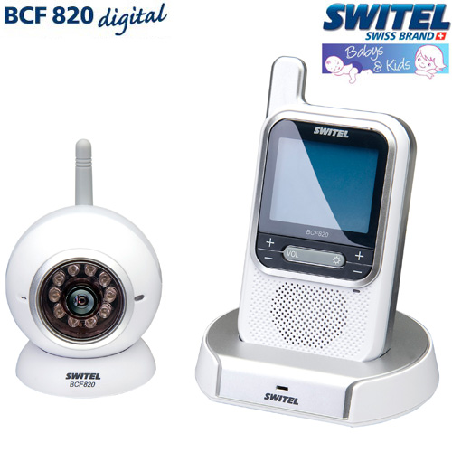 Videointerfon fara interferente ECO Switel BCF820