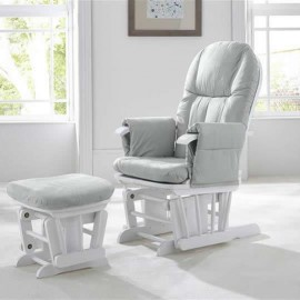 Fotoliu reglabil pentru alaptat cu suport pentru picioare GC 35 Grey Tutti Bambini
