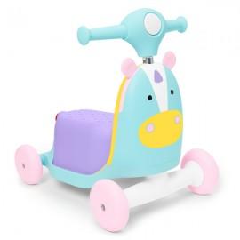 Trotineta 3 in 1 Ride on Skip Hop Unicorn