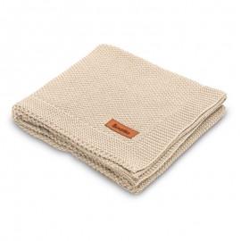 Paturica de bumbac tricotata Sensillo 100x80 cm